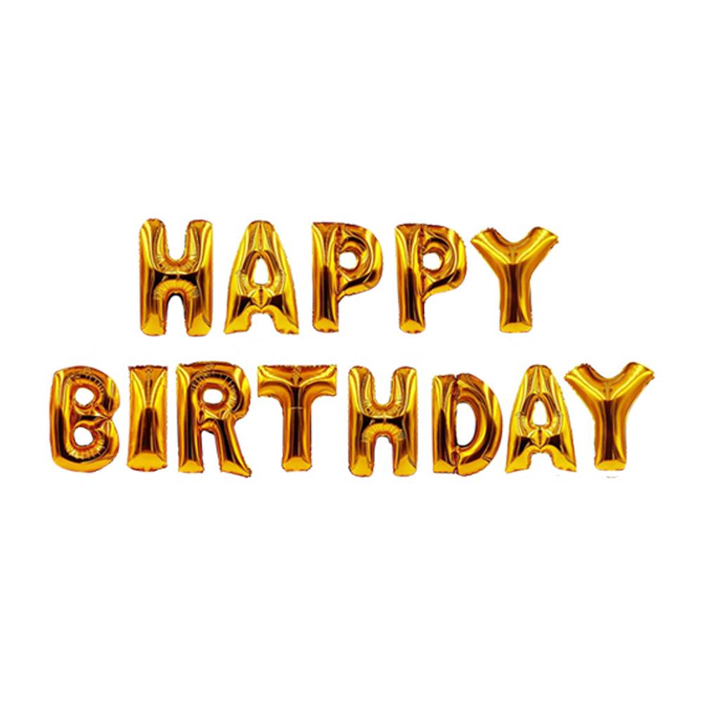 happy birthday folienballons buchstaben luftballons geburtstag deko party pink ebay. Black Bedroom Furniture Sets. Home Design Ideas